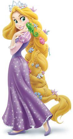 Dessin en couleurs à imprimer : Personnages célèbres - Walt Disney - Raiponce numéro 219596