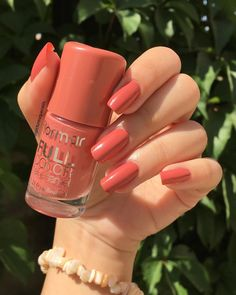 Neon coral nails - Trend Topic For You 2020 Neon Coral Nails, Neon Nail Art, Coral Acrylic Nails, Cute Nails, Pretty Nails, Dream Nails, Stylish Nails, Acrylic Nail Designs, Nails On Fleek