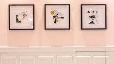 paintings pink restaurant bistro by picktwo interior design studio