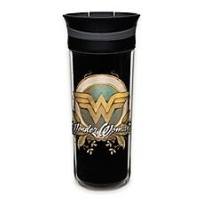 image of DC Comics Wonder Woman 16 oz. Insulated Travel Mug  http://shopstyle.it/l/CO2q  #commissionlink