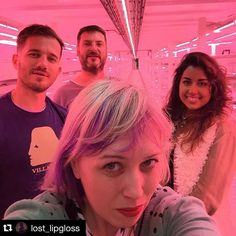 #Repost @lost_lipgloss with @repostapp.  Summer memories 33m underground in an old air raid shelter with some of my favourite people in the world! The future of farming @growing_underground @jelly_j_j  #WorldsFirstSubterraneanFarm #london #sustainability #sustainable #michelrouxjr #michelrouxjr #growingunderground  #ww2tunnels #urbanfarm #eatclean #foodscarcity #food #microherbs #microgreens #agritech #greentech #worldfoodshortage #futurecities #futurefood by growing_underground