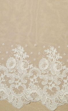Vintage French lace