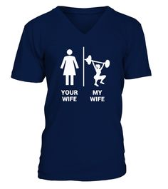 3c0f7edc Your Wife vs My Wife Shirt . Best father's day dad tshirt gifts for your