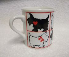 MUG Takahashi San Francisco Scottish Terrier SCOTTIE Dogs Mug Coffee Cocoa Tea