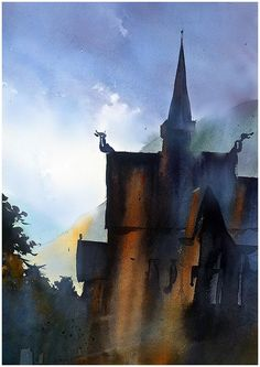 Thomas W. Schaller「Stave Church」