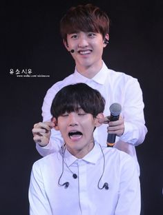 Baek you deserve the punishment for all the times you tease our Squishy