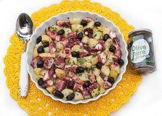 Insalata di polpo e patate con olive