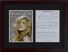School Auction Ideas Kelly Clarkson autographed sheet music #school #fundraising #auction #schoolauctionideas https://www.cfr1.org/school-auction-ideas/