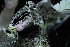 'Grapheme' Turns Memories Into An Interactive Projection Sculpture Interactive Projection, Creators Project, Laser Cutting, The Creator, Memories, Sculpture, Film, Abstract, Artwork