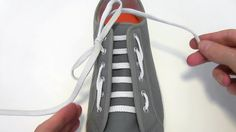 How to Hiking / Biking Lace your shoes - Professor Shoelace