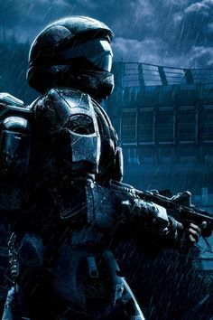 Halo 3 ODST My favorite Halo game as far as story goes. Magnificent game. You'll always be my favorite Rookie! I'm going to go cry now.