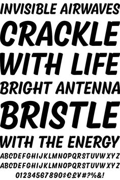 Kansas Casual typeface   Designer: Kyle Wayne Benson