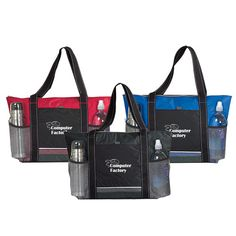 Logoed Icy Bright Cooler Tote Bags (Q366311)