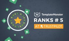 TemplateMonster Ranks 5 at Trustpilot