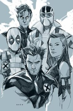 Uncanny X-force by Phil Noto