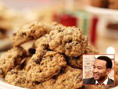 John Legend's Peanut Butter Oatmeal Chocolate Chunk Cookies