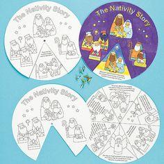 Baker Ross Nativity Story Wheels (Pack of 3) Kids Christmas Craft Activity on eBay!