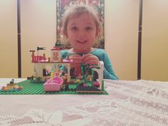 Ariel Legos with Nan