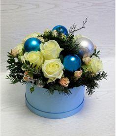 Цветы в кейсах и шляпных коробках | Купить в интернет-магазин цветов Flower Avenue