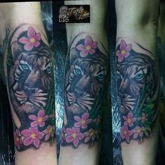 #trujillotattoo213 #tattoo #tattooers #tattooed #tatuajitos #tatuajes #tatu #tat2s #tiger #tatuajesdetigres #riogallegos #santacruz #Patagonia #paintingheartssuplies un genio la amiga la amiga anita:) gracias x la confianza de 100pre :)