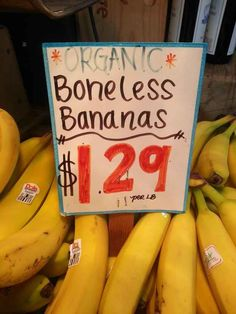 These bananas.