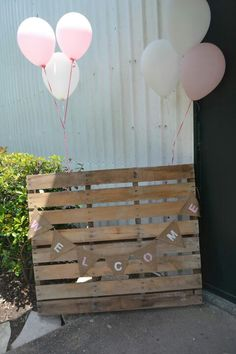 Country baby shower or wedding