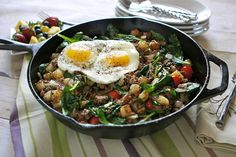Beefy Breakfast Skillet. DELISH!