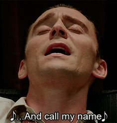 """""""When tears come down/ Like falling rain/ You'll toss around And call my name. """" (""""Your Cheatin' Heart"""" by Hank Williams). I Saw The Light Thomas William Hiddleston, Tom Hiddleston, I Saw The Light, Call Me, Movie Tv, Toms, Daddy, Rain, Marvel"""