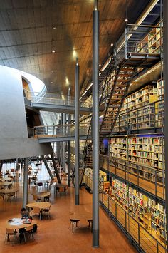 TU Delft Library 09 by Namijano, via Flickr