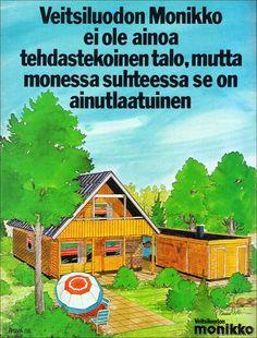 70-luvulta, päivää !: 70-luvun omakotitalo