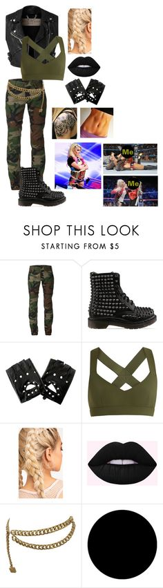 """""""WWE // You and Alexa Bliss Being Big Rivals"""" by somenormalpanda ❤ liked on Polyvore featuring Burberry, Harvey Faircloth, Dr. Martens, No Ka'Oi, Chanel and Wall Pops!"""