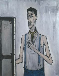 Portrait of the Artist, 1954, Bernard Buffet