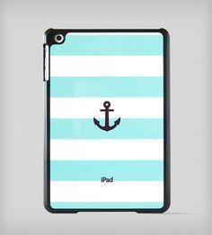 Nautical Stripe iPad Mini Case - Mint by BlissfulCASE on Scoutmob Shoppe #DREAMWEEKENDER