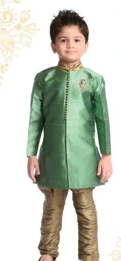 Green Kurta Pyjama