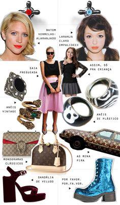 Tá quente / Tá frio: Saia pregueada, monograma, veludo... - Juliana e a Moda | Dicas de moda e beleza por Juliana Ali