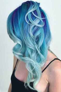 #Color Trendy Hair Color : Are you excited about the mermaid hair trend so much that you cannot wait until ...