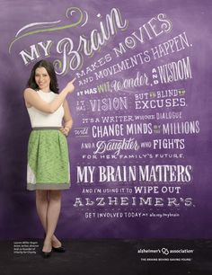 Women's brains matter. They are leaders and influencers in family, community, business and philanthropy. They are also disproportionately affected by #Alzheimers disease. Women account for almost two-thirds of Americans with the disease, and 65 percent of caregivers of people with Alzheimer's are women. #ENDALZ https://mybrain.alz.org/