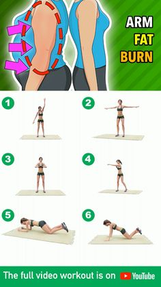 Fitness Workouts, Gym Workout Tips, Fitness Workout For Women, Butt Workout, Tone Arms Workout, Arm Workout Challenge, Exercise For Biceps, Arm And Back Workouts, Bodyweight Arm Workout