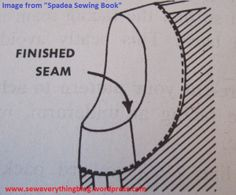 Spadea facing, moving a facing seam to reduce bulk
