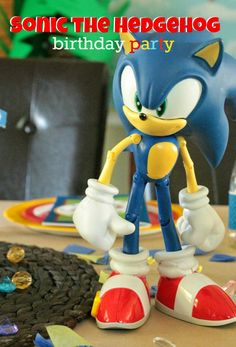 Cupcake Wishes & Birthday Dreams: {Real Parties} Adam's Sonic Birthday Party Recap