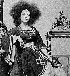 """Zalumma Agra, """"Star of the East,"""" was (at least according to Barnum) rescued from the slave markets of Constantinople. She was said to be the daughter of a prince from the mountainous region of the Black Sea--the purported birthplace of the Caucasian race."""