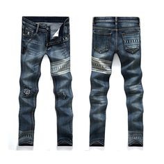 >> Click to Buy << New arrived 2016 Spring Skinny Pencil Jeans Ripped Hole  Slim Denim Hip Hop Jeans #Affiliate