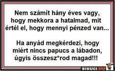 Milyen igaz.. Vicces képek #humor #vicces #vicceskep #vicceskepek #humoros #vicc #humorosvideo #viccesoldal #poen #bikuci Sober, Hungary, Lol, Smile, Random, Memes, Funny, Quotes, Humor