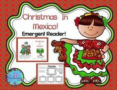 Christmas Around the World Mexico Emergent Reader!:  Christmas Around the World Mexico will be a great addition to your book boxes in December. Included:8 page booklet in color and black and whiteMain Idea PrintableWriting PrintableNew Words Printable