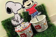 Ideias para festa tema Snoopy / Snoopy Birthday Party Ideas