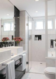 4  Banheiros pequenos e charmosos no blog Detalhes Magicos