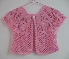 Petite veste crochet