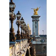 Pont Alexandre III Paris France Canvas Art - Brian Jannsen DanitaDelimont (19 x 28)