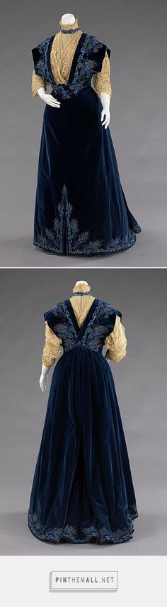Evening dress by House of Worth 1898 French | The Metropolitan Museum of Art