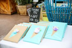 Ice Cream theme Birthday Party Ideas | Photo 1 of 14 | Catch My Party